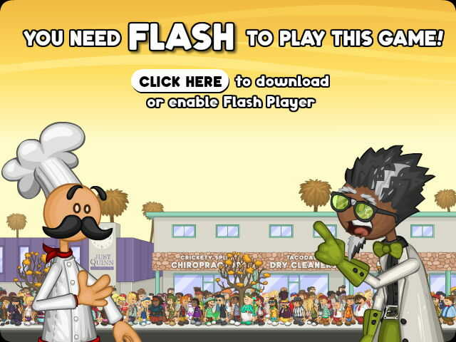 Click Here to enable flash or download it